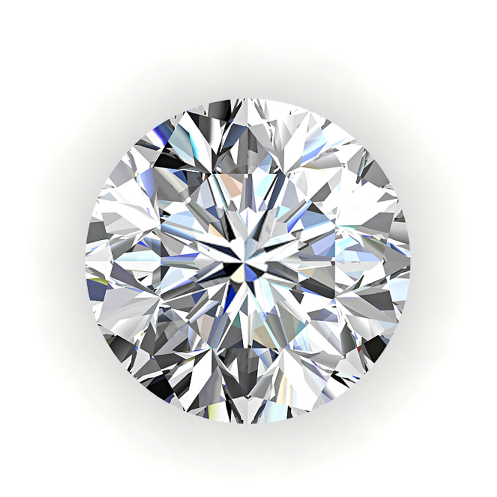0.80 Carat J VS2 Round Diamond